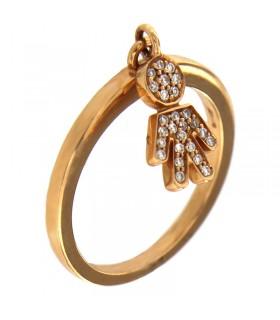 Orologio-Hoops-New-Luxury-Rosa-da-donna-2618LS05