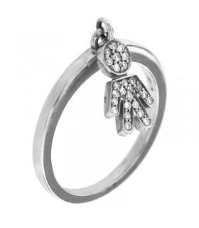Orologio-Hoops-New-Luxury-Silver-Gold-Bluestone-da-donna-2618LSRG04