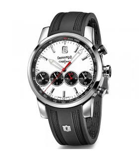 Eberhard Men's Automatic Chrono 4 White 43mm Watch - 0