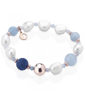 Boccadamo Women's Necklace with Natural Pearls and Star