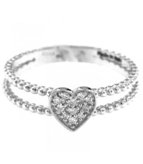 Zancan Hi Teck Bracelet with White Cubic Zirconia for Men