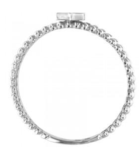 Zancan Hi Teck Bracelet with Black Spinels for Men