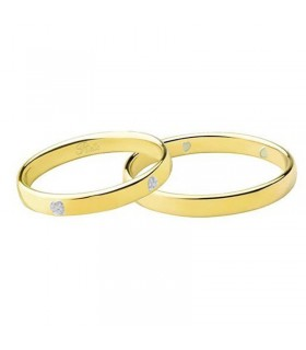 Lorenzo Ungari Woman - Le Scintille Ring in 18k Yellow Gold