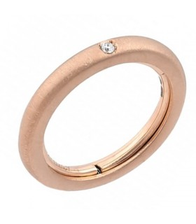 Picca Woman Ring - in Yellow Gold with Diamonds