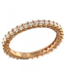 Collana Davite & Delucchi Donna - in Oro Bianco con Diamanti Naturali