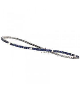 Collana Miluna Donna - in Oro Bianco con Diamanti Naturali
