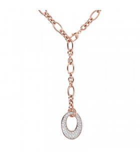 Miluna Woman's Necklace - Pendants in Gold with Natural Diamonds