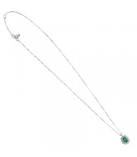 Rue Des Mille Woman's Necklace - with White Star Pendant