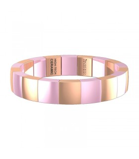 Picca Woman's Bracelet - in White Gold with Diamonds