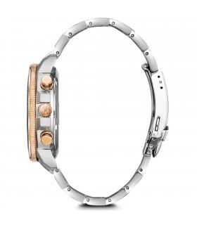 Zancan Bracelet for Men - Hi Teck in Wind Rose Black PVD Steel