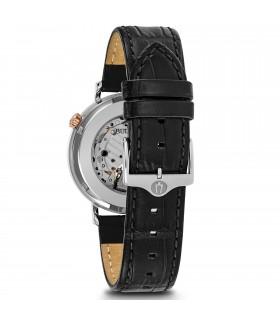 Zancan Bracelet for Men - Still in Silver and Blue Lanyard
