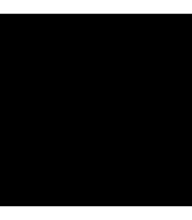 Bronzallure Woman's Necklace - Preziosa with Black Spinels Stone Pendant