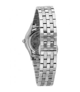 Unoaerre Woman's Bracelet - in White Bronze Diamond Curb Chain