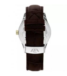 Hoops Woman's Watch - Luxury Day Date Diamonds Gold 33mm Mint Green