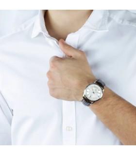 Hoops Woman's Watch - Luxury Day Date Diamonds 33mm Sugar Paper