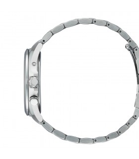 Buonocore Woman's Tennis Bracelet - in White Gold with Natural Diamonds and Chain