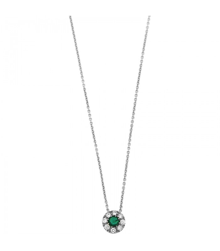 Ben noto Collana da donna smeraldo CLD4094 gioielli MIluna - Picca Gioielli AL83