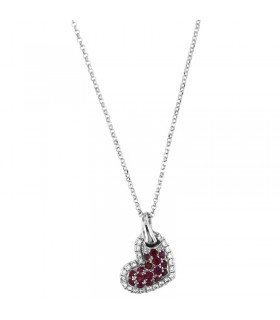 MILUNA NECKLACE WITH QUEEN PEARLS AND DIAMONDS