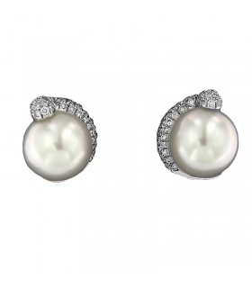 DAVITE & DELUCCHI GOLD DIAMONDS EARRINGS
