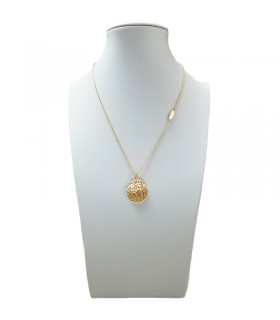 Zancan Rood man's gold necklace