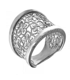 Anello Chirico con diamanti e rubini da donna