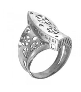 Anello Chirico con diamanti e turchese da donna