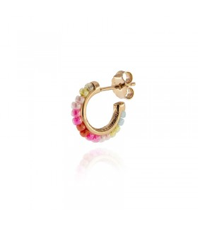 Buonocore Heart Ring with Rubies for Woman