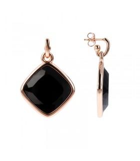 Boccadamo Necklace Black Swarovski Crystals for Woman