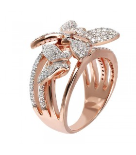 Davite & Delucchi Solitaire Ring With Diamond for Woman