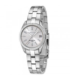 Breil Woman's Six 3 Nine Silver 38mm Watch