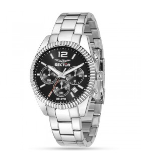 Breil Man's Six 3 Nine Black 44mm Watch