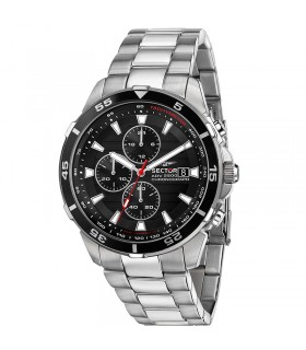 Sector Men's Blue Multifunction 41mm Watch