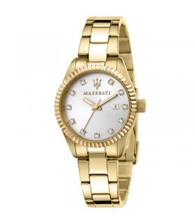 Hoops Women's Nouveau Chérie Elastic White Watch