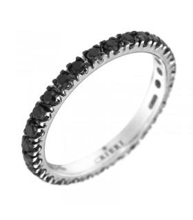 "Etnò Women's Initial ""D"" Ring"