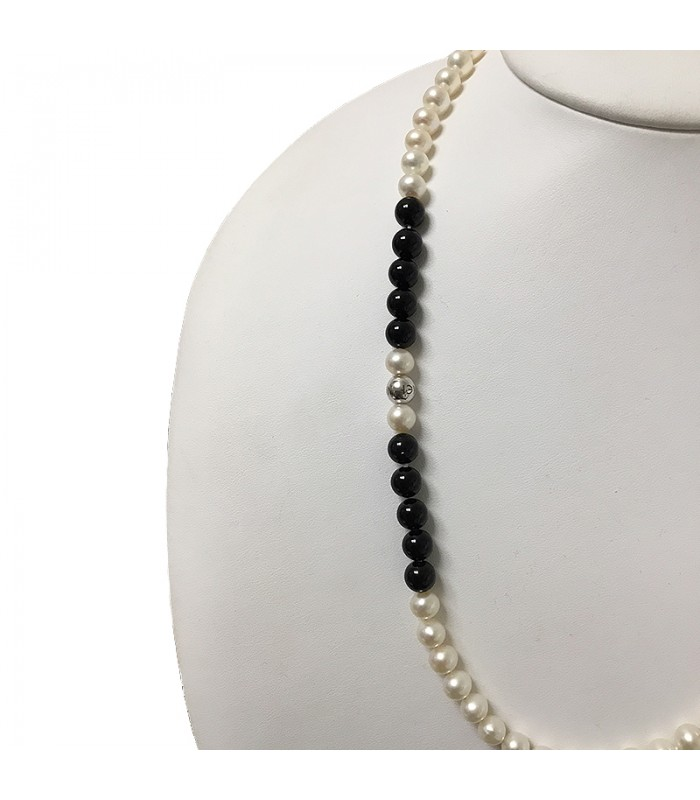 Miluna Women's Miss Italia Pearls Necklace