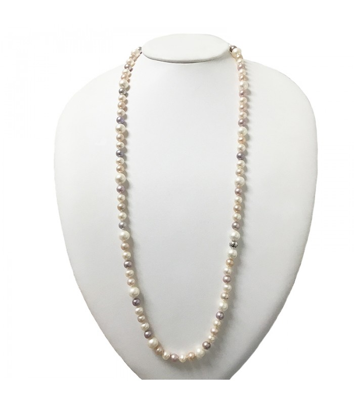 Miluna Pearls Miss Italia Necklace for Woman