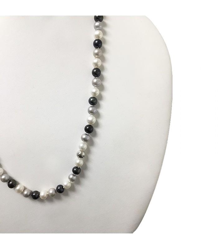 Miluna Necklace With Terra e Mare Pearls for Women