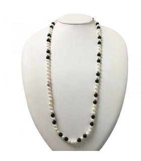 Miluna Women's Oro Brillante Pearls Bracelet